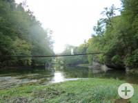 Foto Hängebrücke