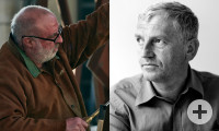 Robert Schad und Arnold Stadler
